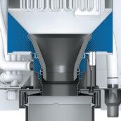 Õhuniisuti Condair RS külma vee sektsioon