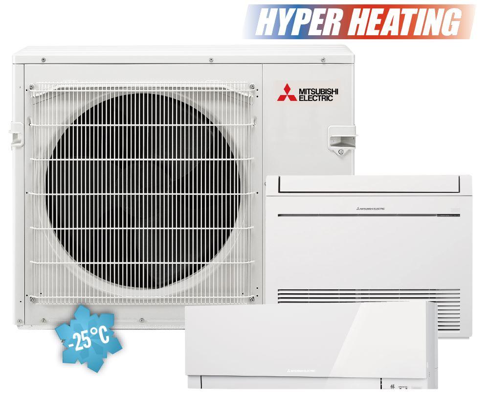 serie climatizzatore multisplit mitsubishi new condizionatore split electric quadri mxz con sf inverter