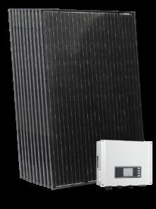 Päikeseenergia tootmine päikesepaneelidega. NIBE PV päikesepaneelid.